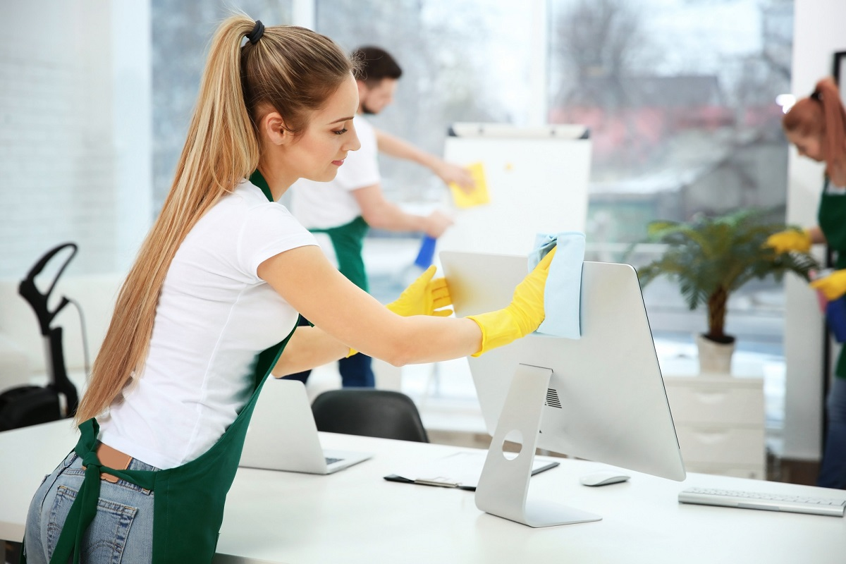 Leaving company cleaning to a commercial cleaning service allows you to focus on your own work and worry less about the cleanliness of the office environment.
