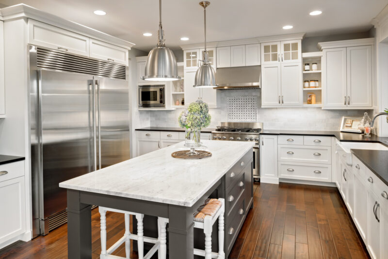Kitchen cabinets can make or break your kitchen renovation. Consider these 9 trendy kitchen cabinet finishes for 2021 that you're sure to love.