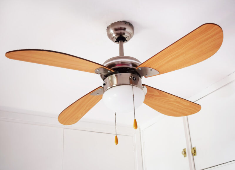A ceiling fan provides many benefits to a room, but there are things to consider. This guide explains what to consider when buying a ceiling fan.